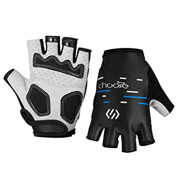 Cycling Half Finger Gloves Shockproof Breathable MTB Bike Riding Gloves M-XL