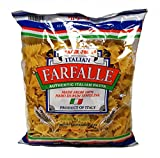 Trader Joe's Authentic Italian Farfalle Bow Tie Pasta 100% Durum Semolina - 1 lb (16 oz.)