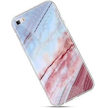 Felfy Silicona Carcasa Compatible con Huawei P8 Lite 2016 Funda Mármol Silicona Case,Brillante Brillo Ultra Fina Delgado Suave Silicona TPU Funda ...