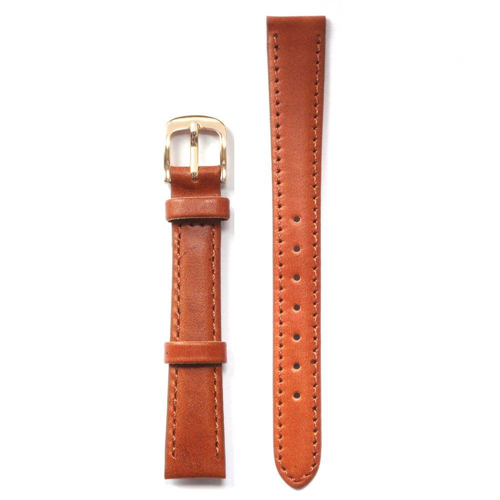 Honey Brown AE Oil Leather 14 Millimeters Watch Strap