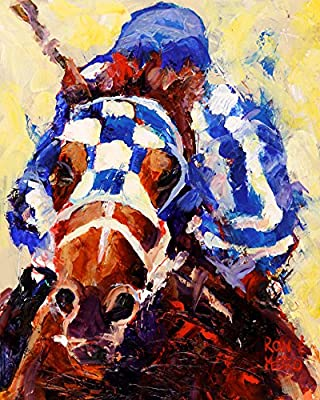 Secretariat Fine Art Print on 100% Cotton Watercolor Paper