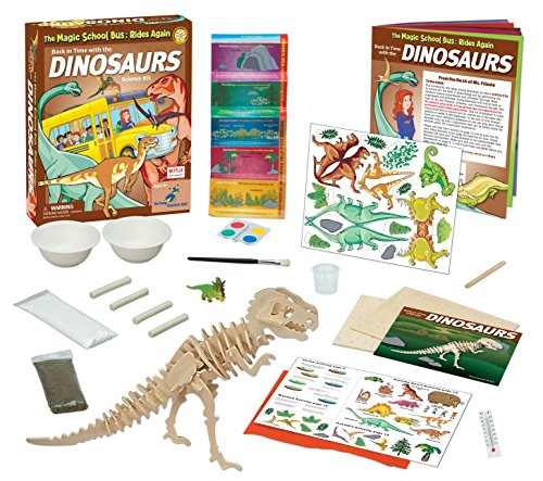The Magic School Bus: Back in Time with the Dinosaurs]()