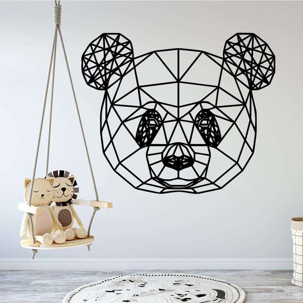 yaonuli Estilo de Dibujos Animados calcomanía de Panda geométrica ...