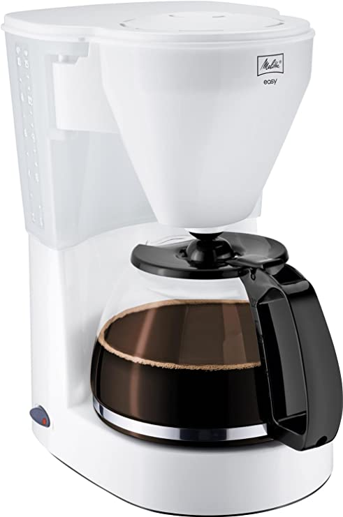 Melitta Easy - Cafetera de goteo, 1050 W, color blanco: Amazon.es ...