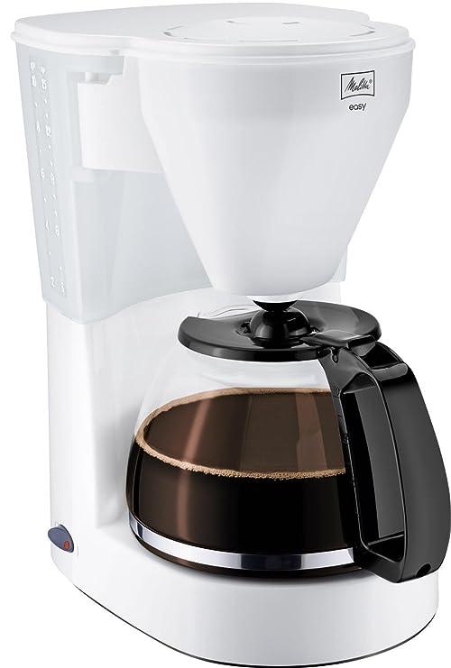Melitta Easy - Cafetera de goteo, 1050 W, color blanco: Amazon.es ...