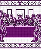The Last Supper Filet Crochet Pattern