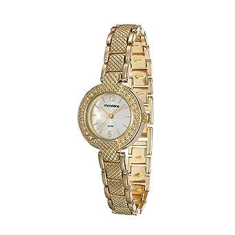 3cb7b749b54 Relógio Mondaine Feminino Analógico Dourado 83296LPMGDM2  Amazon.com ...