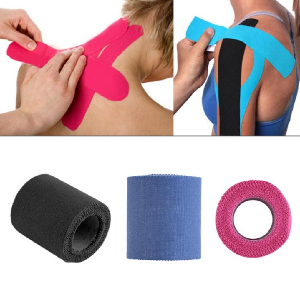 Athletic Tape, Oldeagle Kinesiology Sports Tape Trainers Strapping Joints Support Athletic Tape