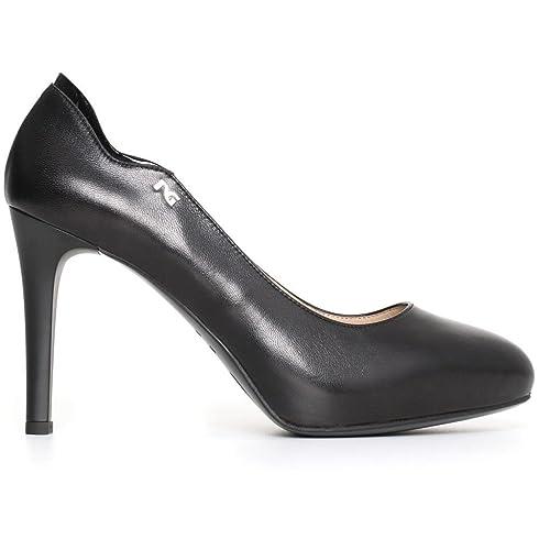 eda26fd082 Nero Giardini donna decollete nero A719631D scarpe in pelle inverno 2018,  EU 36½