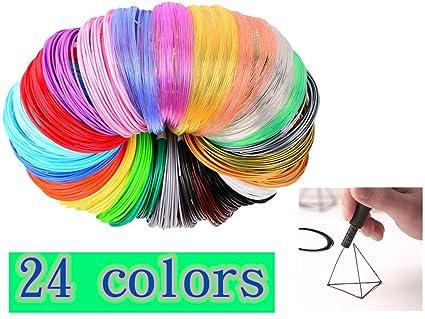 Filamento de bolígrafo 3D, Vimbo 24 colores, filamento de ...