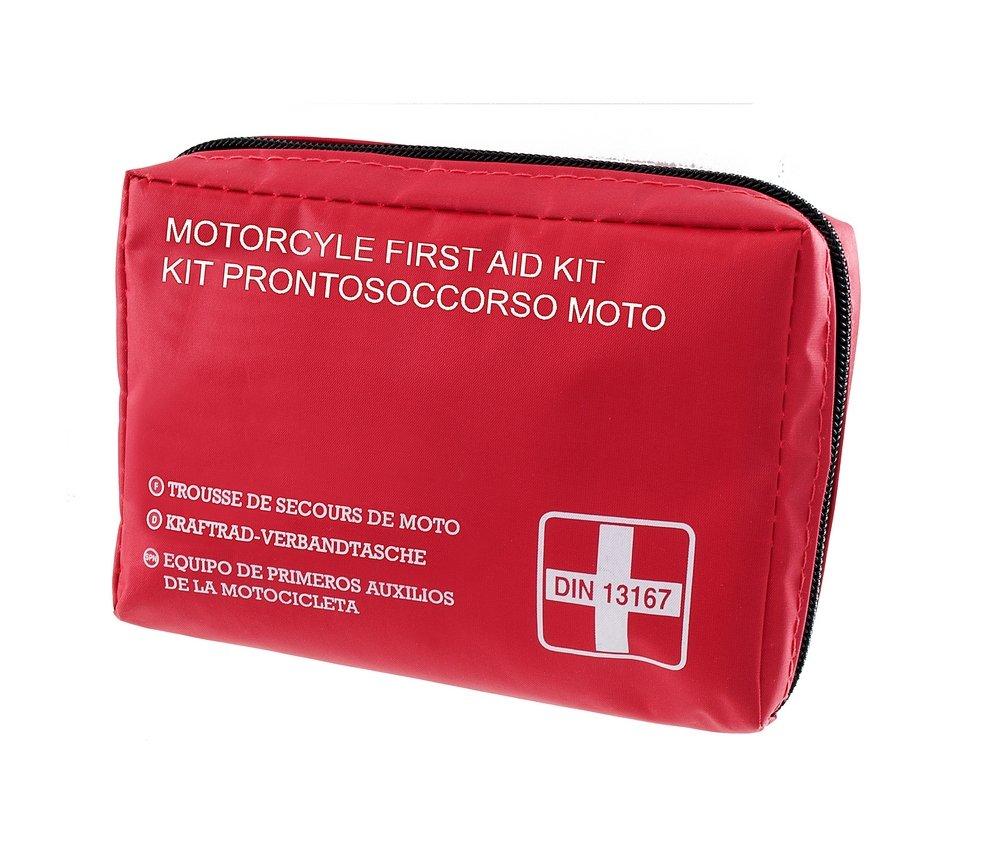 RMS Kit de Primeros Auxilios para Moto, DIN13167--2014 (Seguridad) DIN13167--2014(Seguridad)