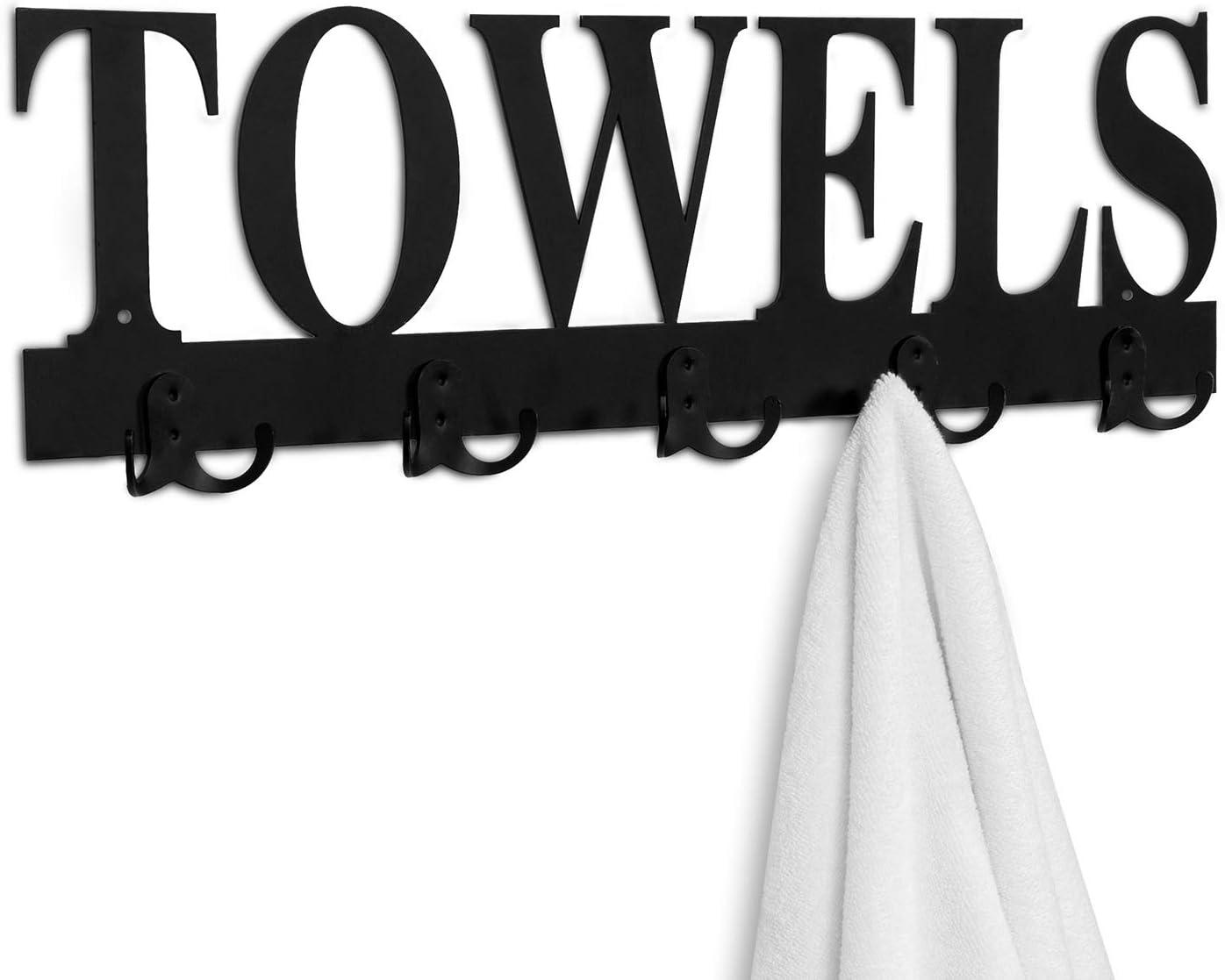 Towel Hooks Reusable Ø 5,5 cm U-Fix Metaltex Window Hook Wall Hook