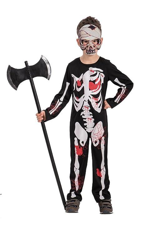 Carnival Toys - bañador traje esqueleto para niño para niños ...