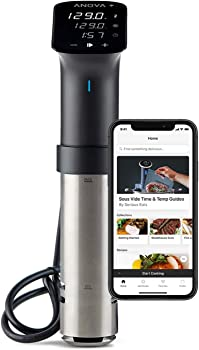 Anova Culinary 1200 Watts Sous Vide Wifi Precision Cooker Pro