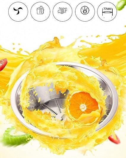 FZ FUTURE Extractor de zumos, Licuadora Frutas Verduras, con Boca ...
