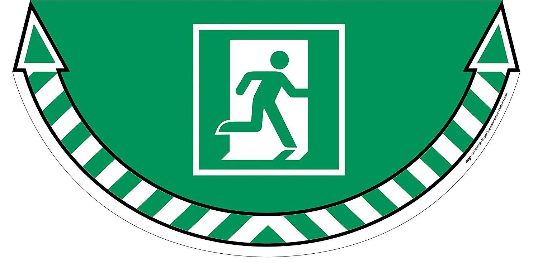 Cep 1701020031 - Cartel adhesivo salida de emergencia ...