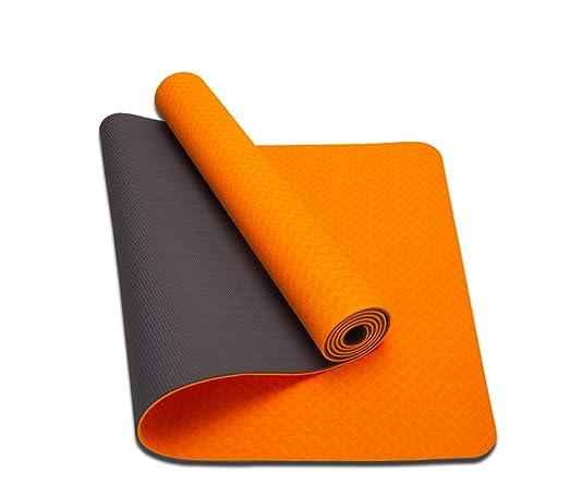 HCJYJD Colchonetas de Yoga, Material TPE Gimnasio ...