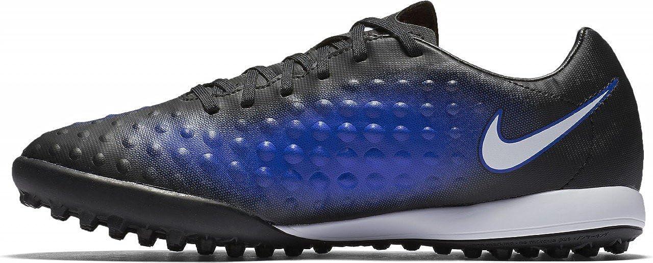 f062da6b17500 NIKE Men's Magistax Onda II TF Turf Soccer Shoe (Blue, Black) (6.5)