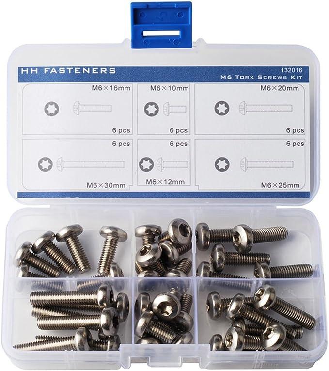M5 x 12 Stainless Steel Pan Head TORX bolts 5mm x 12mm Torx Screws Stainless x20