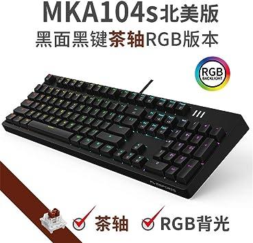 LCRGMPC1 M104 Edición norteamericana Teclado mecánico Juego ...