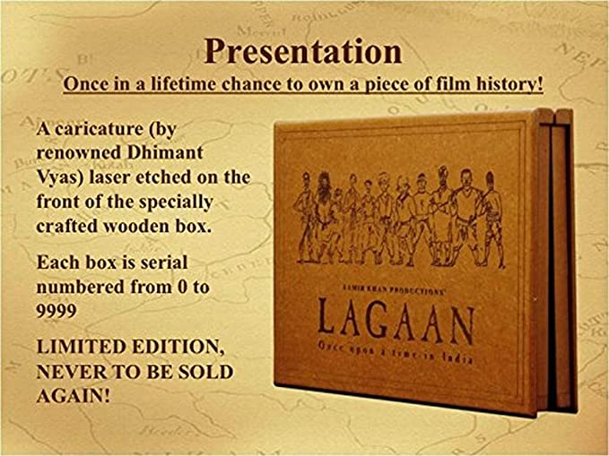 card game set wood handcrafted india full house place to call home box set Lagaan - Special Anniversary Edition Wooden Box Set (4-Disc Box Set)