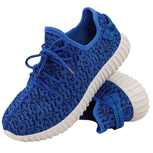 Señoras Corriendo Formadores Para Mujer Ejercicio Gym Nuevo Deportivo Inspirada Bombas De Zapatos Talla 3-8 Azul Oscuro