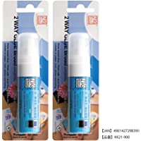 Zig Memory System Two Way Glue Pen, Carded, Jumbo Tip