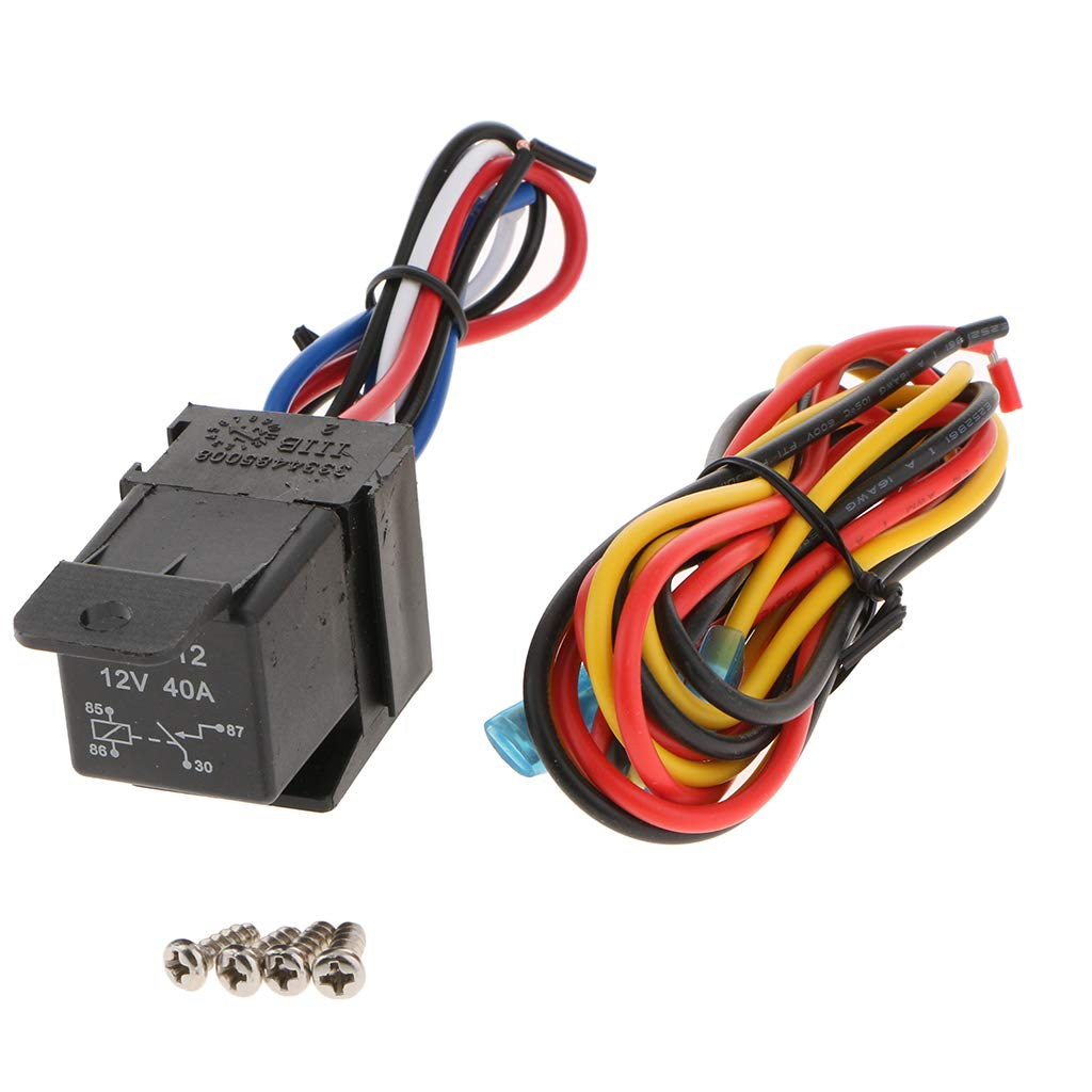 DC12V Flip-up Ignition Switch Panel 6 in 1 Car Engine Start Push Button LED Toggle for for Racing Sport Competitive Car