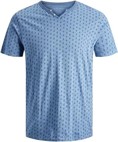 JACK JONES PREMIUM - Camiseta de Manga Corta Hombre Color: BlaucelAzul Talla: M: Amazon.es: Ropa y accesorios
