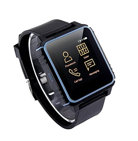 Smartwatch, A-Best IP68 Impermeable Deporte Reloj Inteligente Monitor de Frecuencia Cardiaca Bluetooth 4.0 SmartWatch Teléfono ...
