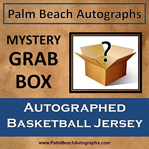 MYSTERY GRAB BOX - Autographed Basketball Jersey