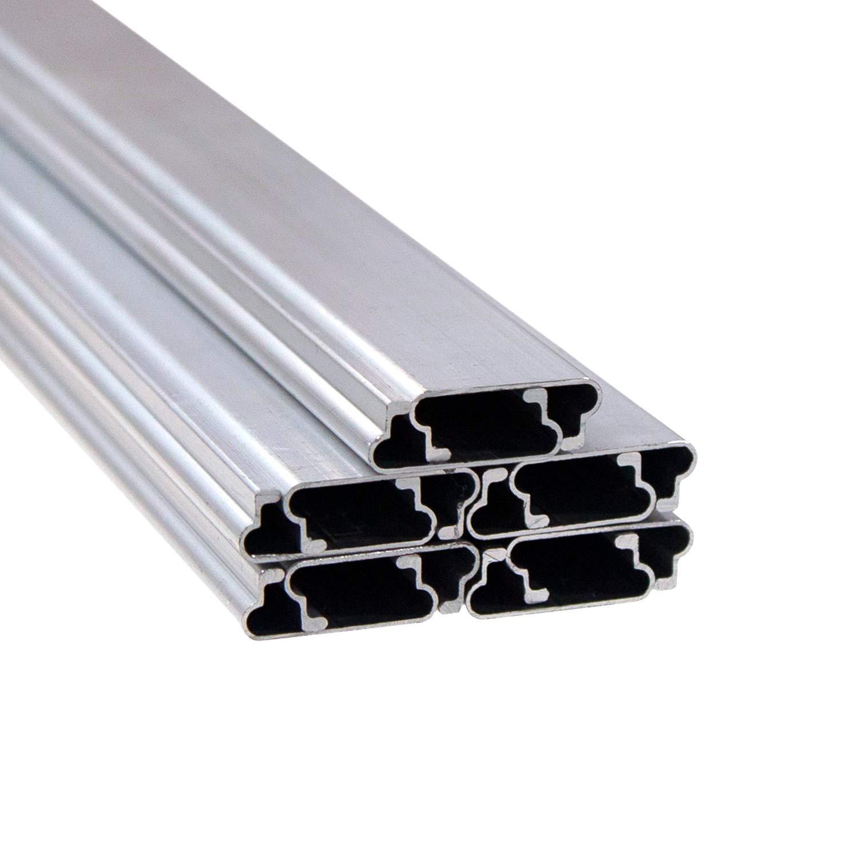 Jiggly Greenhouse Aluminum Lock U Channel Wire 6 5 Ft