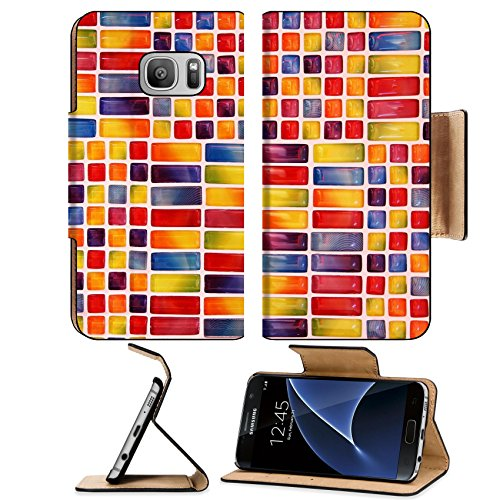 luxlady-premium-samsung-galaxy-s7-flip-pu-leather-wallet-case-image-id-24481265-colorful-glass-tiles