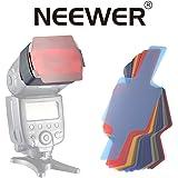 Neewer universal 20unidades color protectores Flash algunas Farbige iluminación algunas Color Speedlite Juego de filtros para Canon Nikon Sony Pentax Olympus Metz y todo tipo de flashes para cámara digital