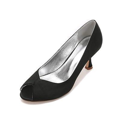 66e360c405 Duoai@ Seide in Satin High-Heeled Schuhe Frauen Schuhe/Tip/Hochzeit ...