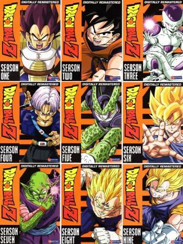 Dragon Ball Z Complete Series 1-9 Uncut Seasons (54discs): Amazon.es: Juguetes y juegos