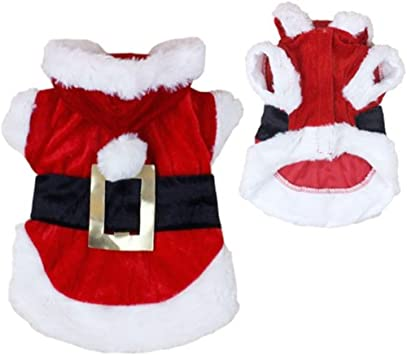 Amazon.com: Nuevo disfraz de Papá Noel de Navidad ...
