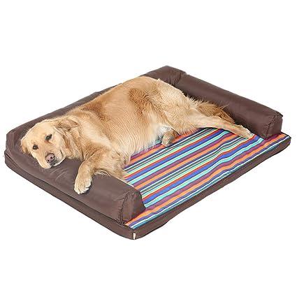 Cojín de Cama de Perro Caliente para Mascotas Perrera Perro Cama Extraíble y Lavable Four Seasons