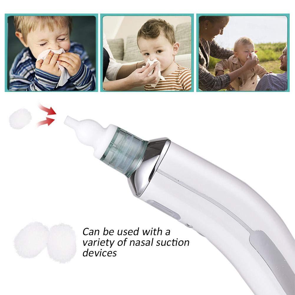 L 200/pcs Nasal pour b/éb/é Filtre Coton Nasal Aspiration p/ériph/érique Accessoires jetables Filtre Coton Mouche Wood.L Bois