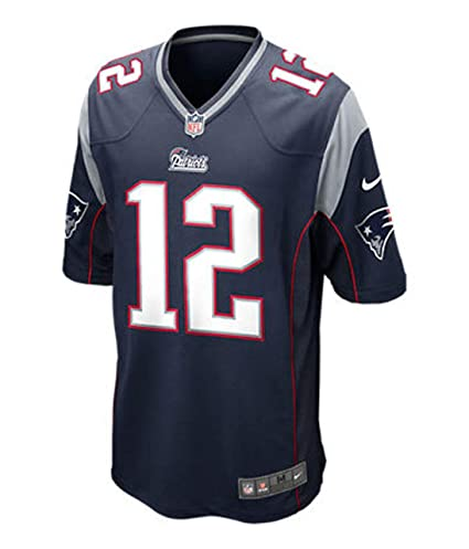 2c2a0cd9b New England Patriots Tom Brady Blue Youth Nike Game Jersey (youth small 8)