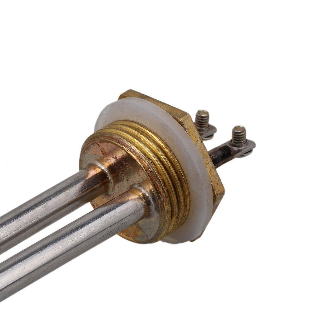 cnbtr plata AC220/V 3000/W 1/ mountingcopper hilo tubular Calentador de agua el/éctrico tubo