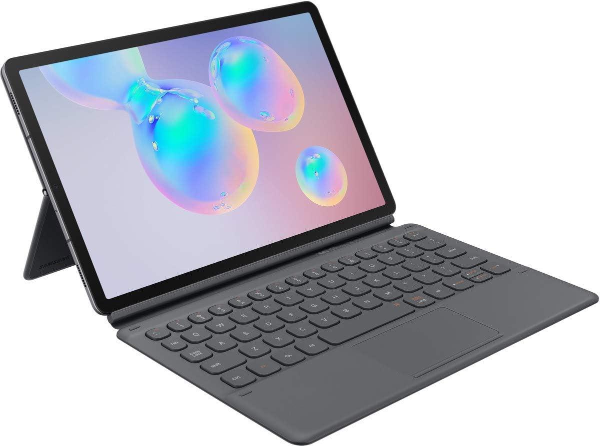 Samsung Book Cover Keyboard Galaxy Tab S6 grijs: Amazon.nl
