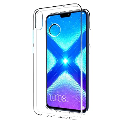 Coverito TPU for Huawei Honor 8X Transparent Back Cover