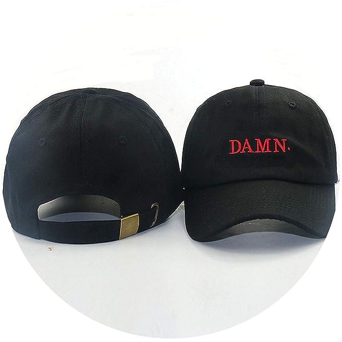 Kendrick Lamar Damn Cap Embroidery Damn Earth dad hat Women Men The Rapper  Baseball Cap Fashion 62f957f53a7