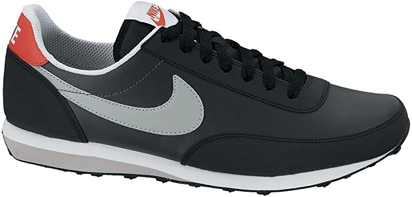 NIKE Elite Feather SI - Zapatillas de Piel para Hombre - Schwarz (Black/Grey/Red 006) Talla:49,5: Amazon.es: Deportes y aire libre