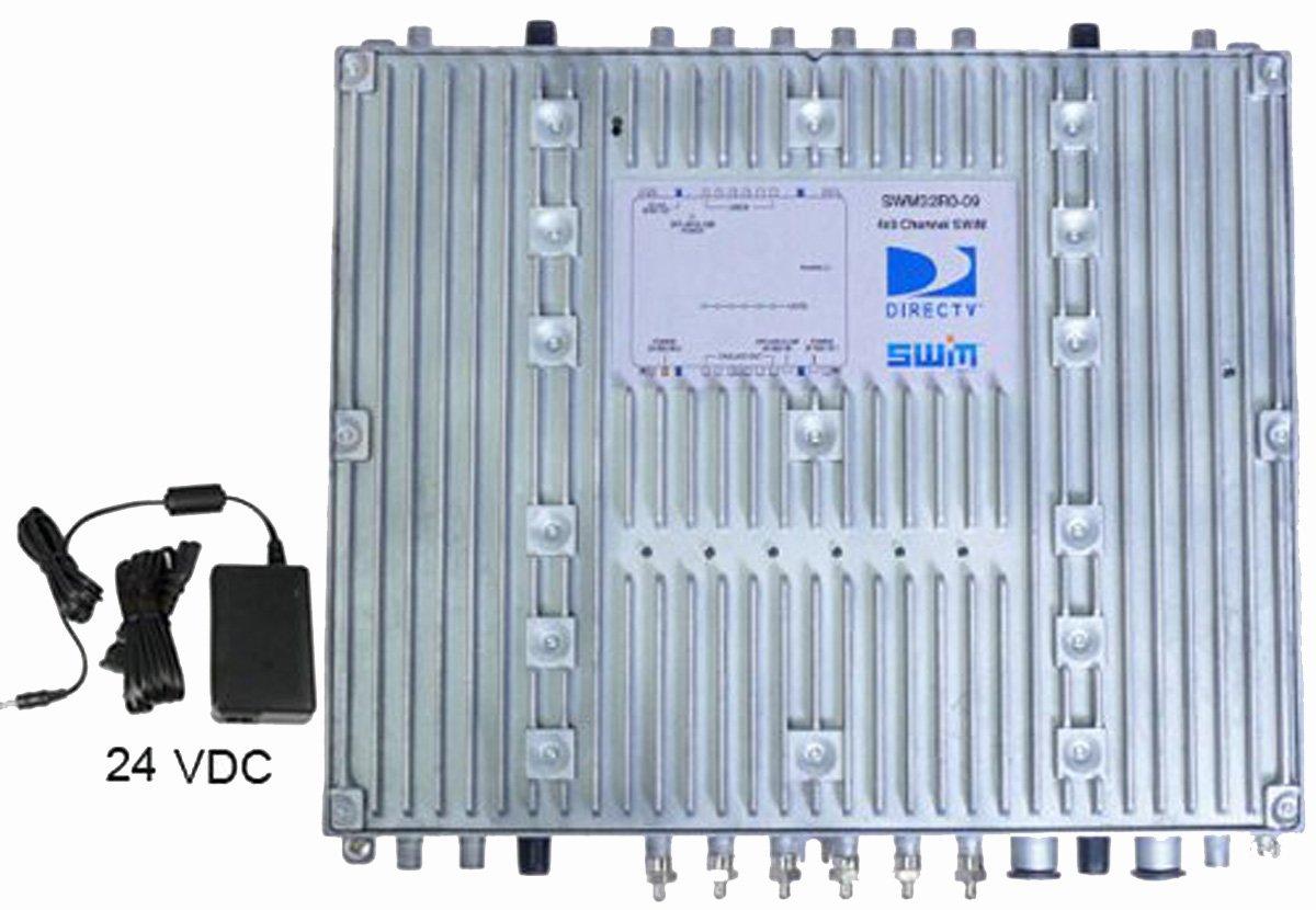 Directv SWM32 Satellite Multiswitch With 24V Power Supply by DIRECTV