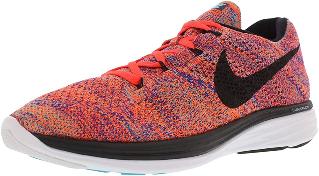 Nike Mens Flyknit Lunar3, Concord/Black-Total Crimson-Total Orange, 8.5 M US 61WsWkyADnLUL1100_