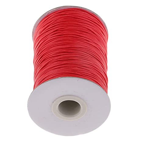 Thong for Jewellery Making 1 Roll 180 Yards 1mm Diameter Waxed Cotton Cord