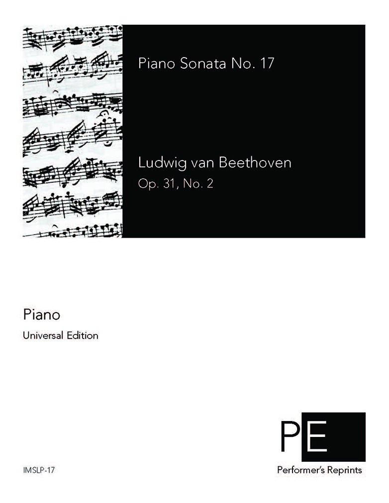 Download Piano Sonata No.17 - Score PDF