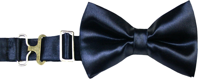 6pc Baby Toddler Boy Teen Formal Black /& White Suit Set Satin Bow tie Sm-20